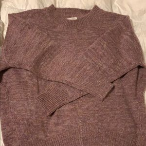 Mohair chunky sweater